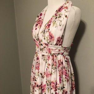 *sold* NWOT floral dress